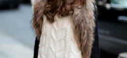 6 formas de vestir de blanco en invierno