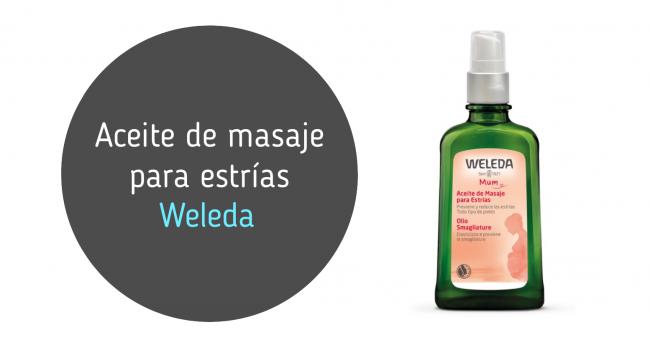 Aceite de masaje para estrías de Weleda: mi opinión