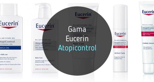 Analizamos las cremas Eucerin Atopicontrol