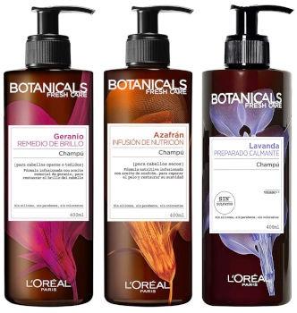 Botanicals, una nueva gama con champús sin siloconas