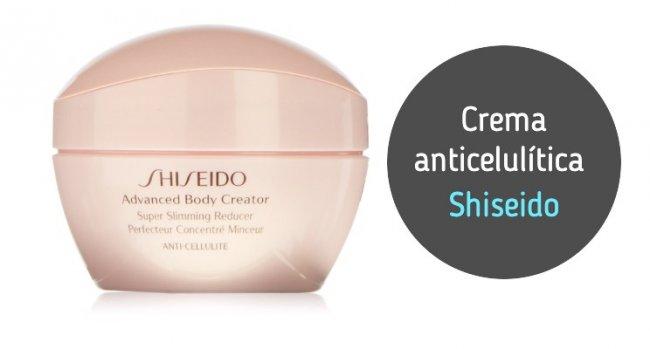 Crema anticelulítica Shiseido: opinión