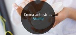 Crema antiestrías Akento: mi opinión