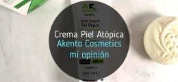 Crema para Pieles Atópicas de Akento Cosmetics: mi experiencia
