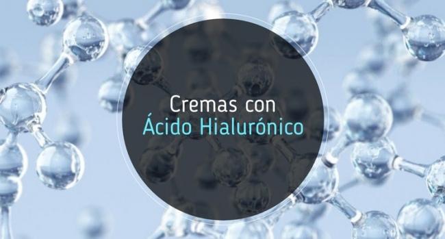 Cremas con acido hialurónico