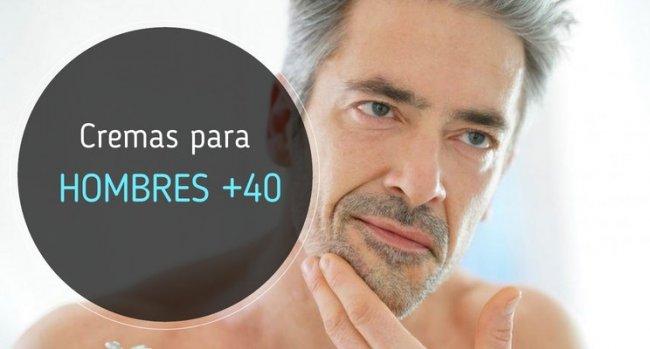 Cremas para hombres de 40 años