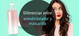 Descubre las diferencias entre acondicionador y mascarilla