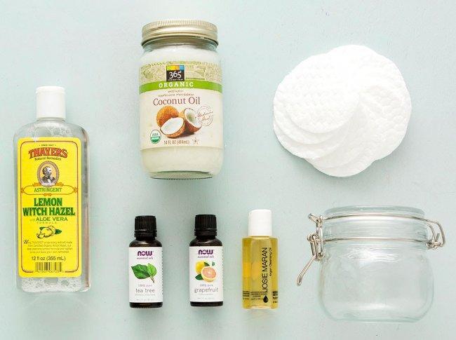 Desmaquillante de ojos casero: limpieza natural
