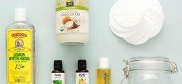 Desmaquillante de ojos casero: limpieza naturalo