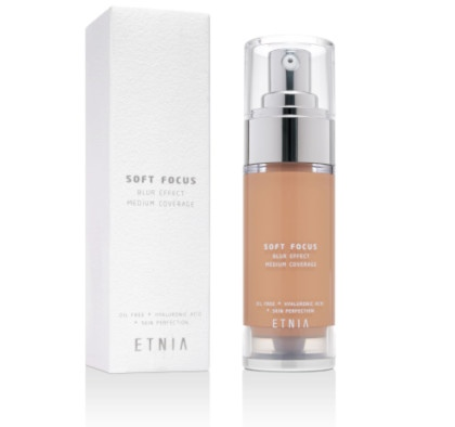 Base de maquillaje Soft Focus, otro de mis productos favoritos de Etnic Cosmetics