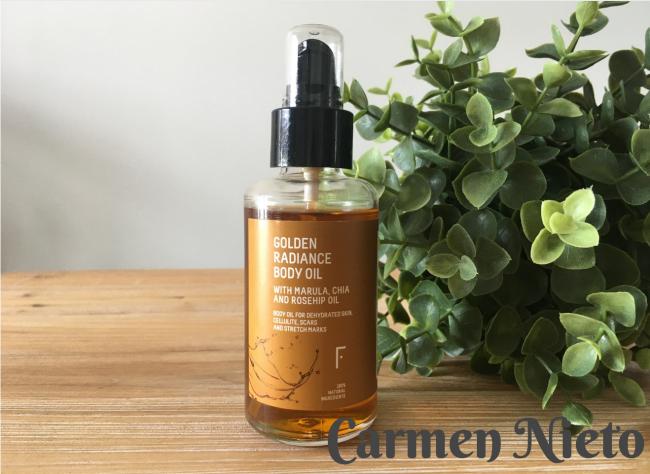 Golden Radiance Body Oil de Freshly Cosmetics: mi opinión