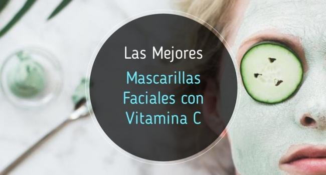 La mejor mascarilla de vitamina C del mercado