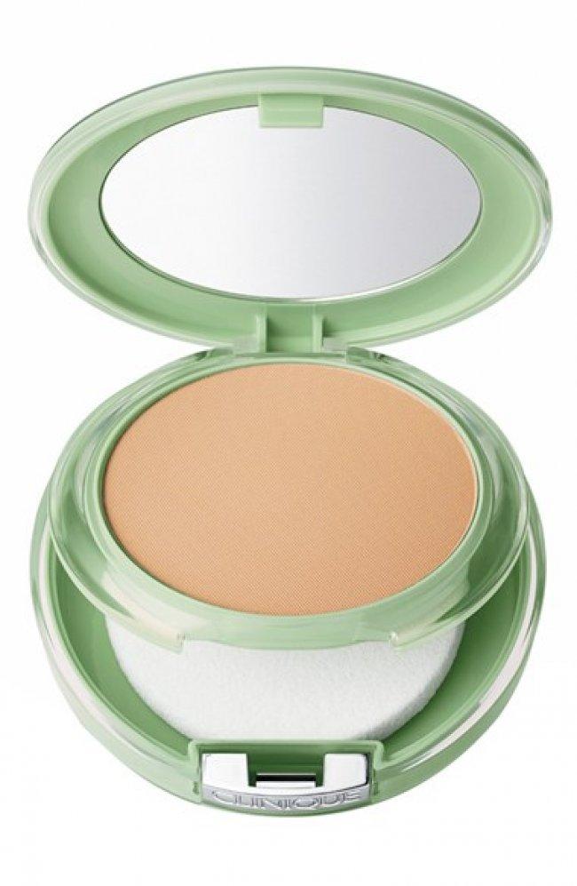 Maquillaje compacto para piel grasa