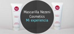 Mascarilla facial Vitamina C de Nezeni Cosmetics: te cuento mi experiencia