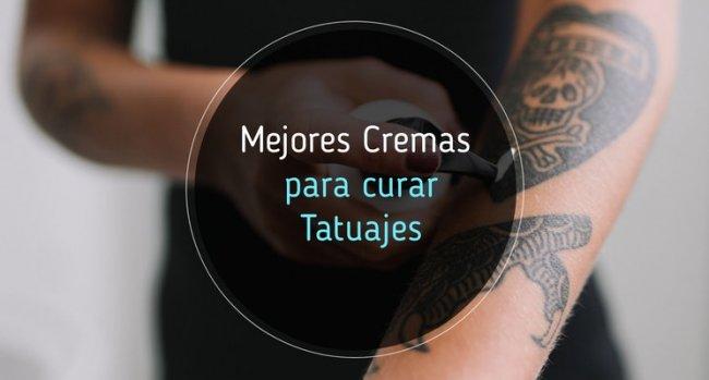 Mejores cremas para curar tatuajes