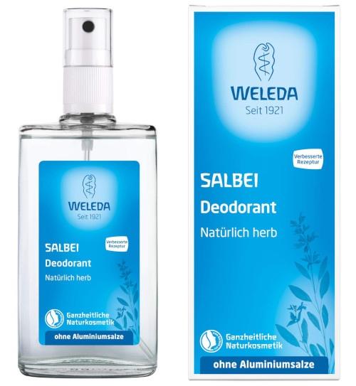 El mejor desodorante sin aluminio: Weleda
