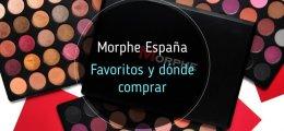 Morphe España. Donde comprar y artículos favoritos