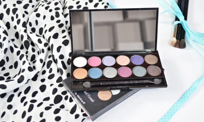 Paletas de sombras Sleek Makeup