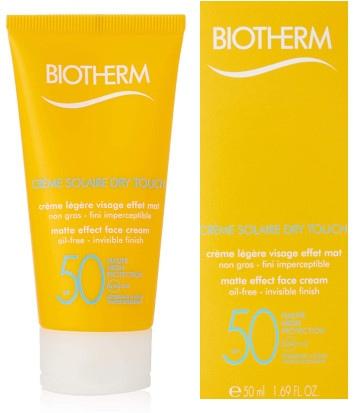 Protector para el sol Biotherm Sun Crème Solaire Visage Dry Touch