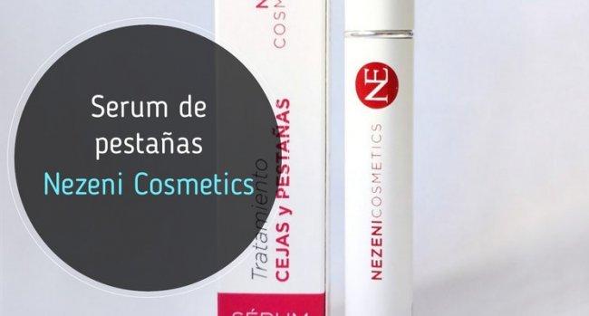 Serum de Pestañas Nezeni Cosmetics: mi opinión
