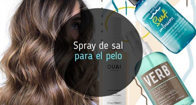 Spray de sal para el pelo: los mejores y cómo se usa