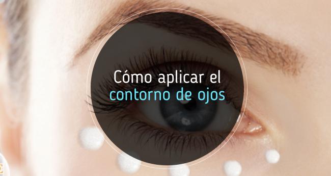 Te contamos cómo aplicar el contorno de ojos
