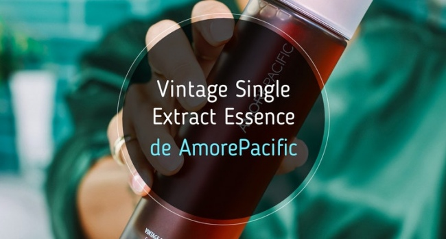 Vintage Single Extract Essence de AmorePacific: mi opinión